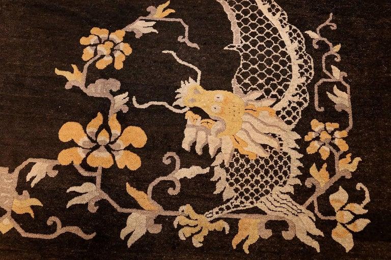 Antique Chinese Dragon Carpet At 1stdibs