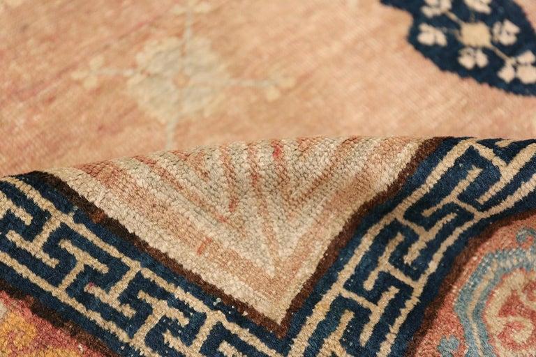 Antique Khotan Rug from East Turkestan For Sale 1