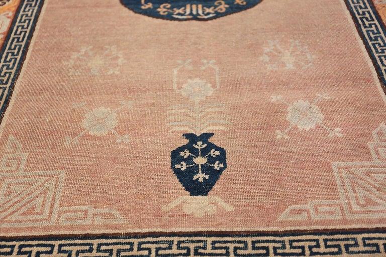 East Turkestani Antique Khotan Rug from East Turkestan For Sale