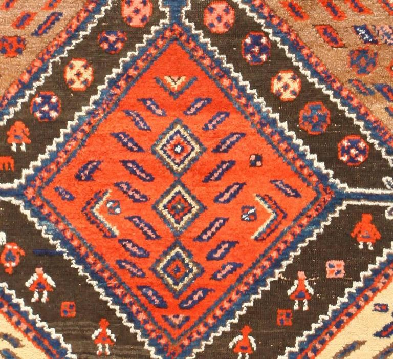 Persian Tribal Rugs: Antique Persian Tribal Kurdish Rug At 1stdibs