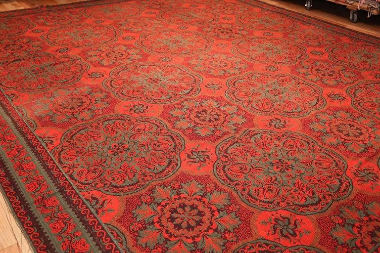 Antique arts and crafts english wilton carpet for sale at for Arts and crafts carpet