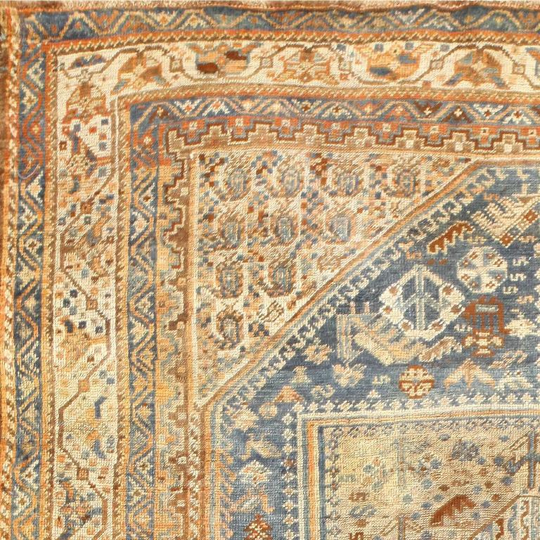 Persian Tribal Rugs: Tribal Antique Persian Qashqai Rug At 1stdibs