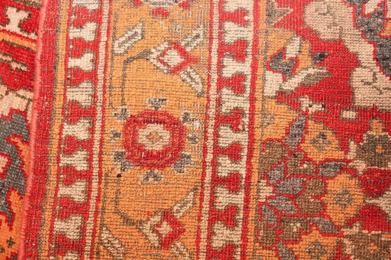 Indian Antique Agra Carpet For Sale