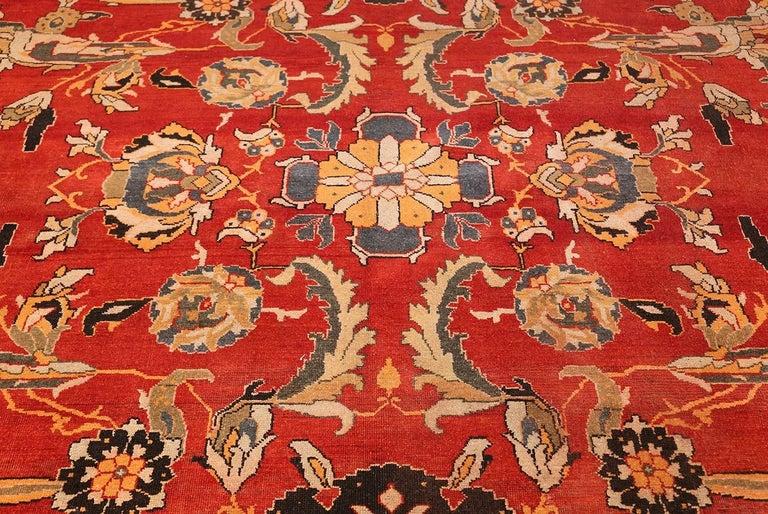 Antique Agra Carpet For Sale 1