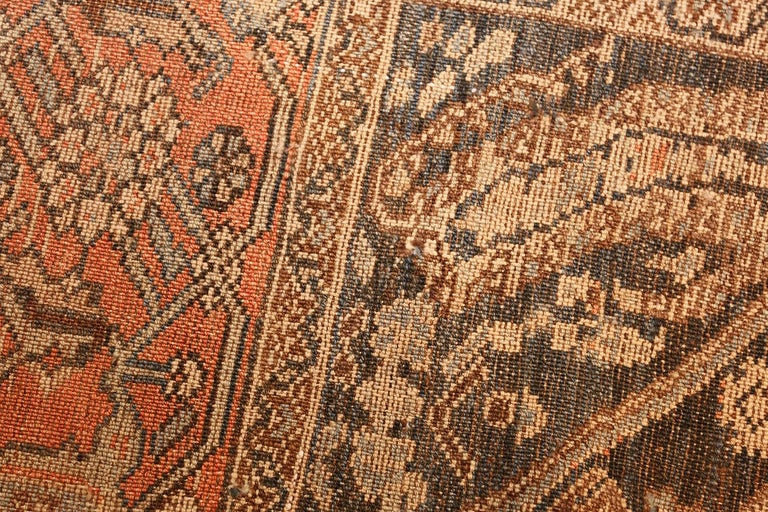 Small Antique Persian Malayer Rug For Sale 1