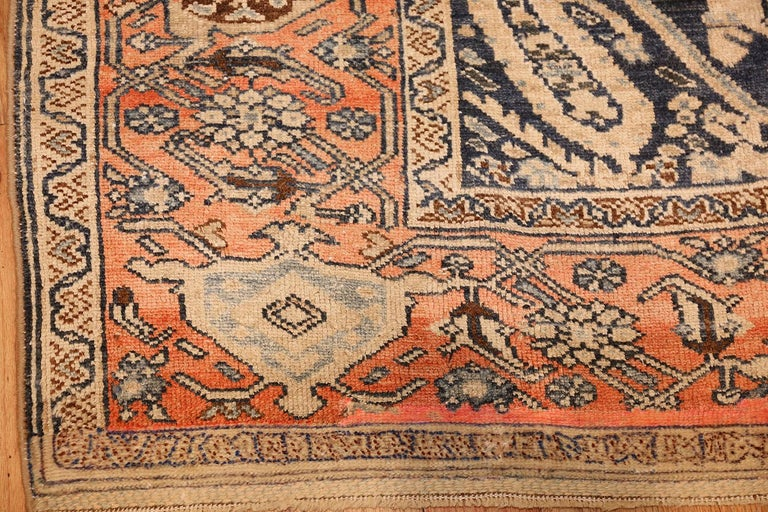 20th Century Small Antique Persian Malayer Rug For Sale