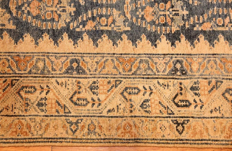Decorative Antique Persian Malayer Runner In Excellent Condition For Sale In New York, NY