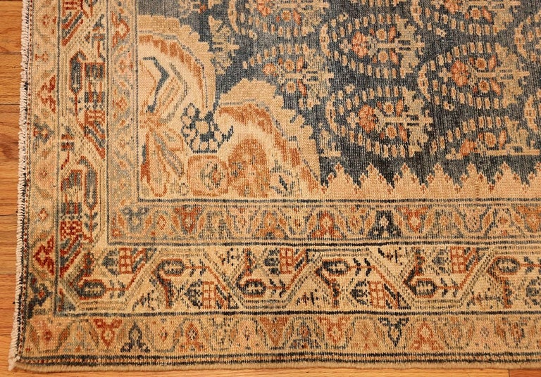 Decorative Antique Persian Malayer Runner For Sale 2