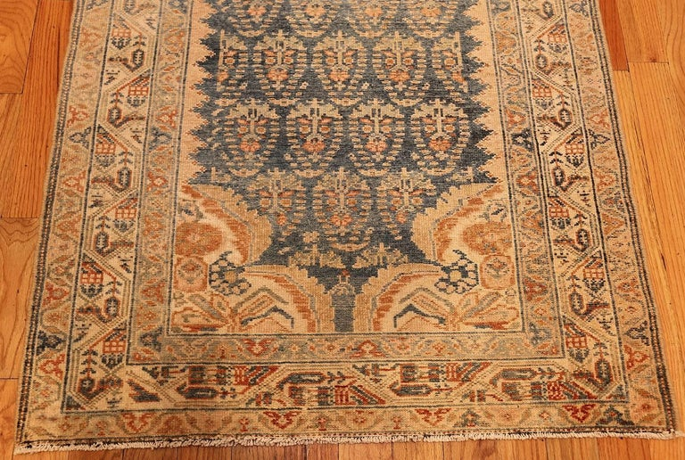 Decorative Antique Persian Malayer Runner For Sale 1
