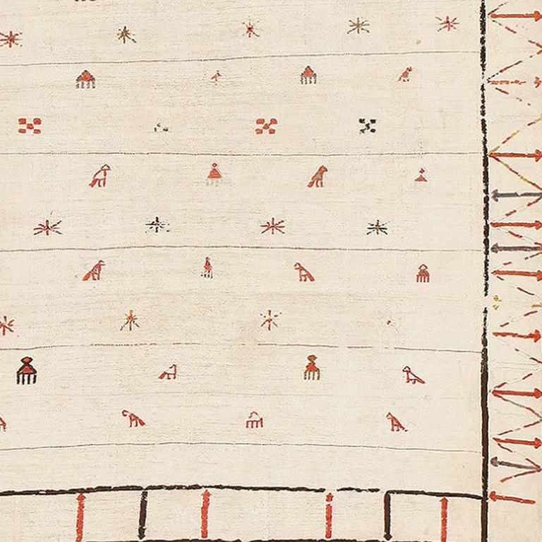 Caucasian Kilim Rug: Tribal Caucasian Kilim Rug For Sale At 1stdibs