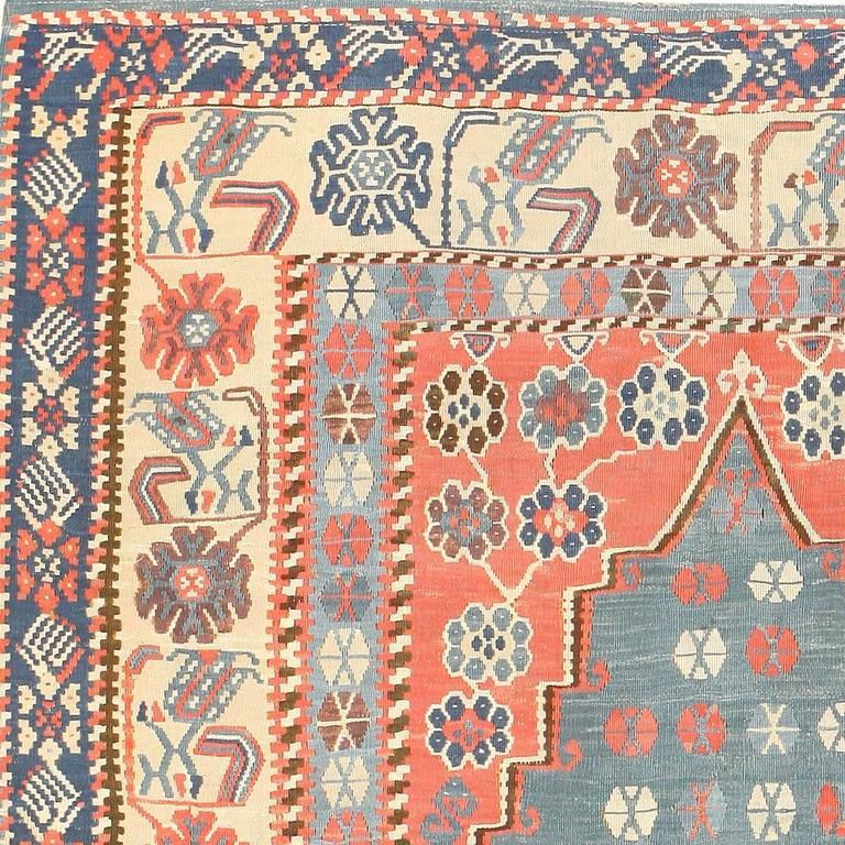 Antique Turkish Kilim Rug For Sale At 1stdibs