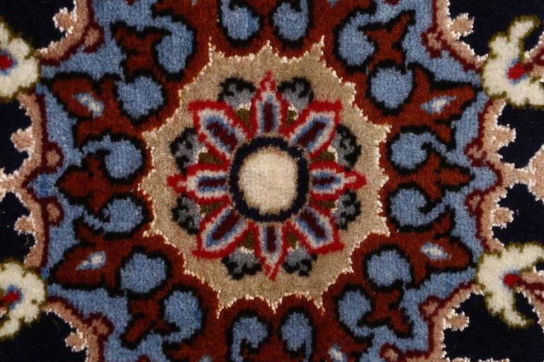 Other Ivory Vintage Isfahan Persian Rug For Sale