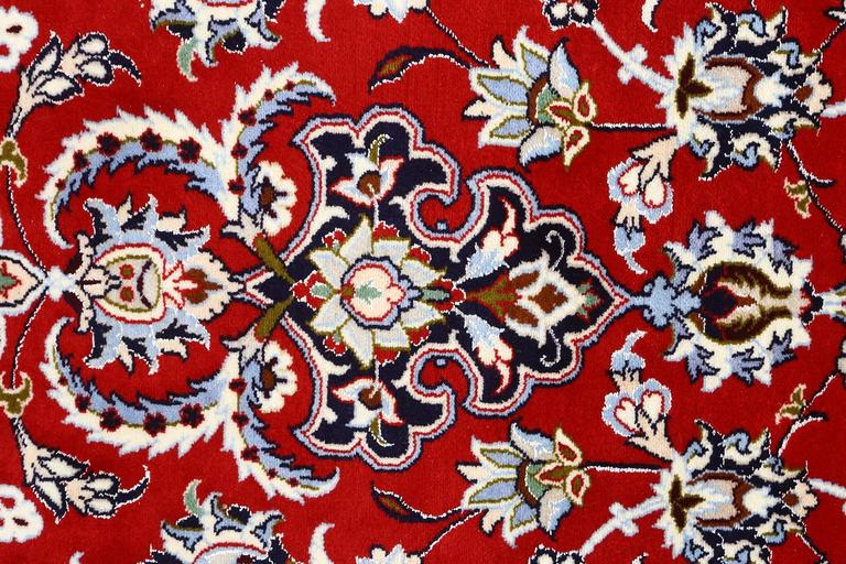 Other Vintage Isfahan Persian Rug For Sale