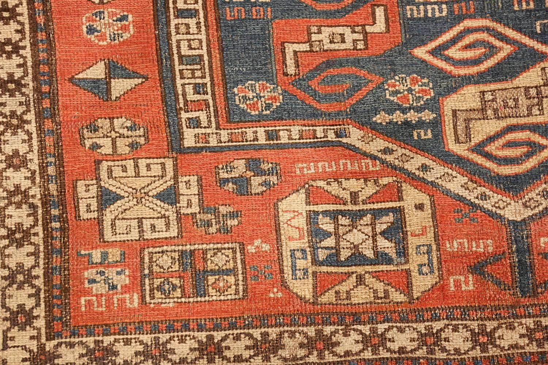 Tribal Soumak Caucasian Rug Size
