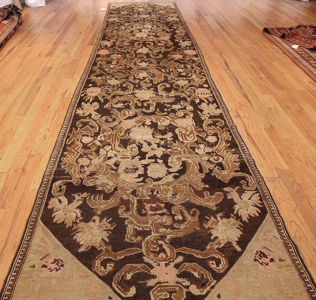 Antique Caucasian Karabagh Hallway Runner Rug