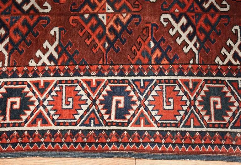 Tribal Antique Yomud Oriental Rug For Sale