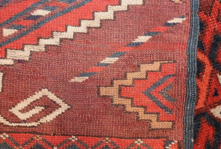Turkestan Antique Yomud Oriental Rug For Sale