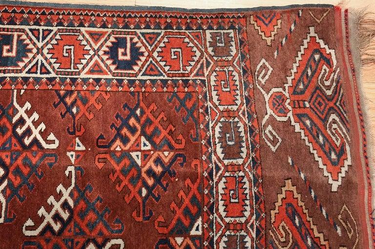 Antique Yomud Oriental Rug For Sale 1