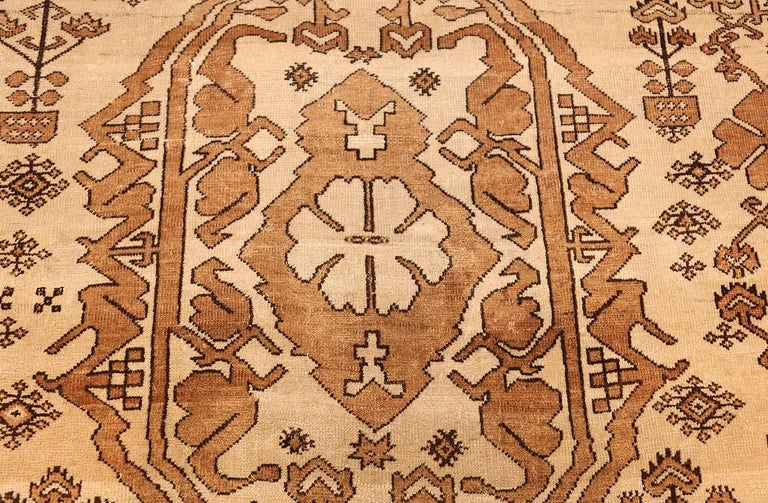 Antique Afghan Rug In Good Condition For Sale In New York, NY
