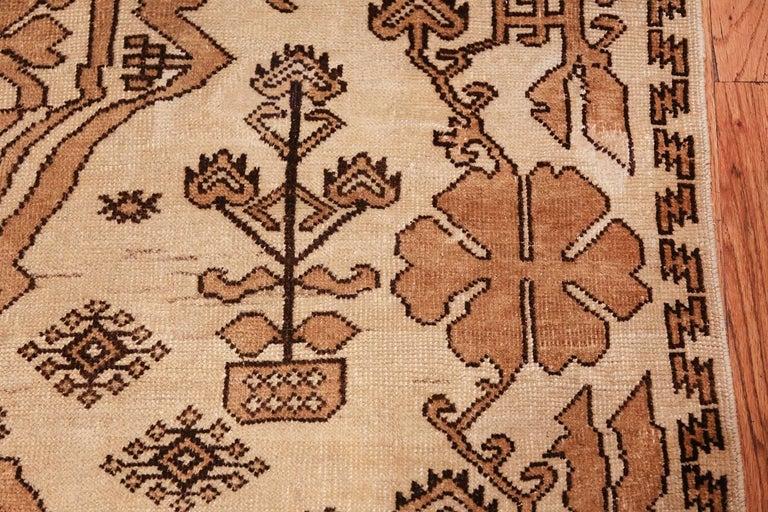 Wool Antique Afghan Rug For Sale