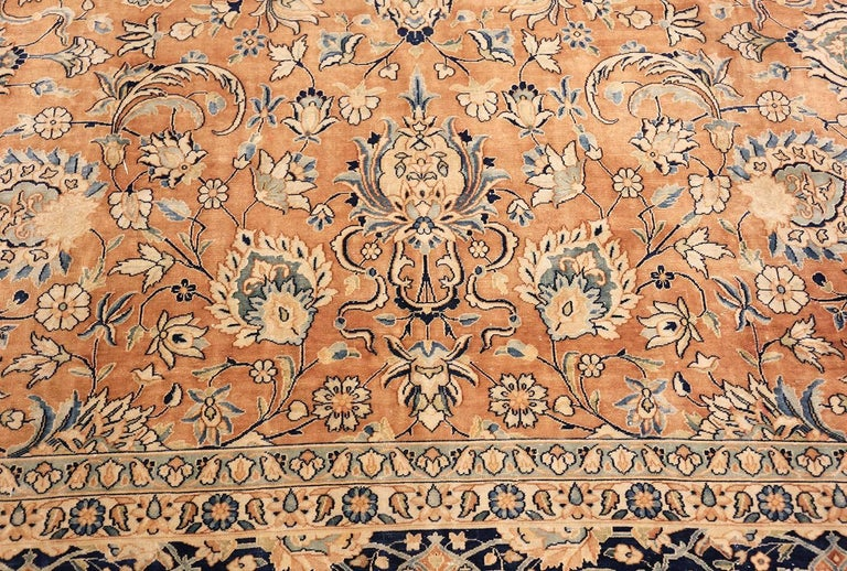 20th Century Antique Persian Kerman Carpet  For Sale