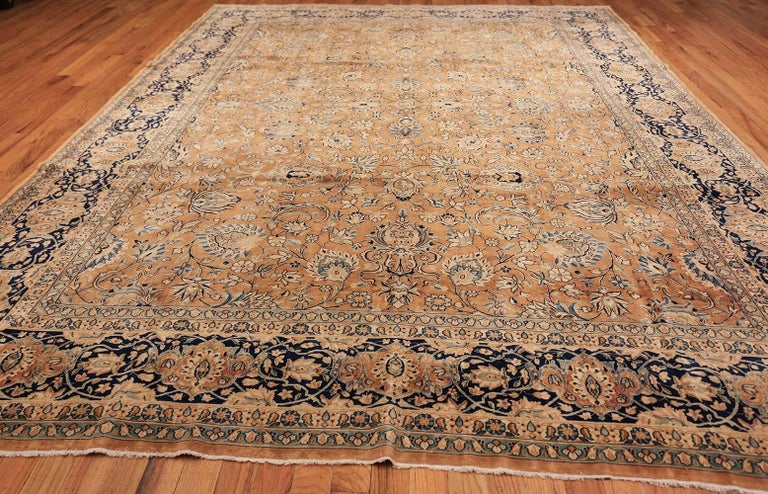 Antique Persian Kerman Carpet  For Sale 2