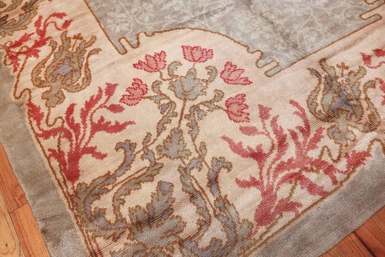 French Art Nouveau Rug Signed By Leleu For Sale At 1stdibs