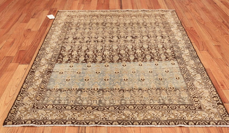Antique Tribal Malayer Persian Rug For Sale 3