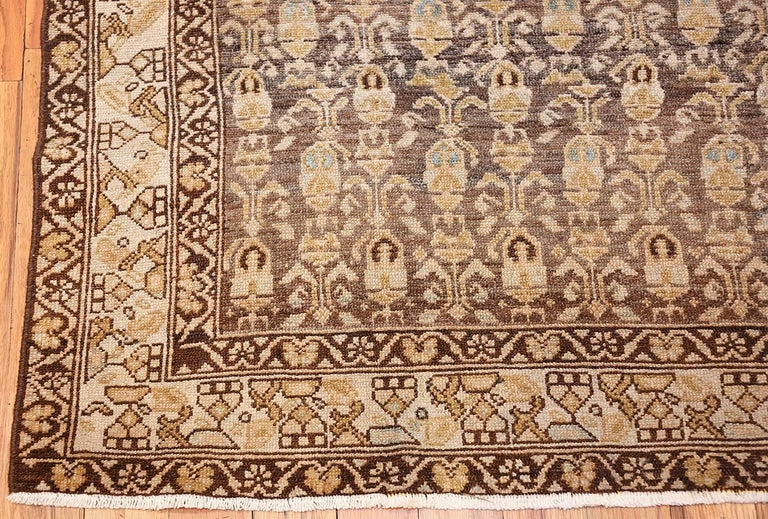 Wool Antique Tribal Malayer Persian Rug For Sale