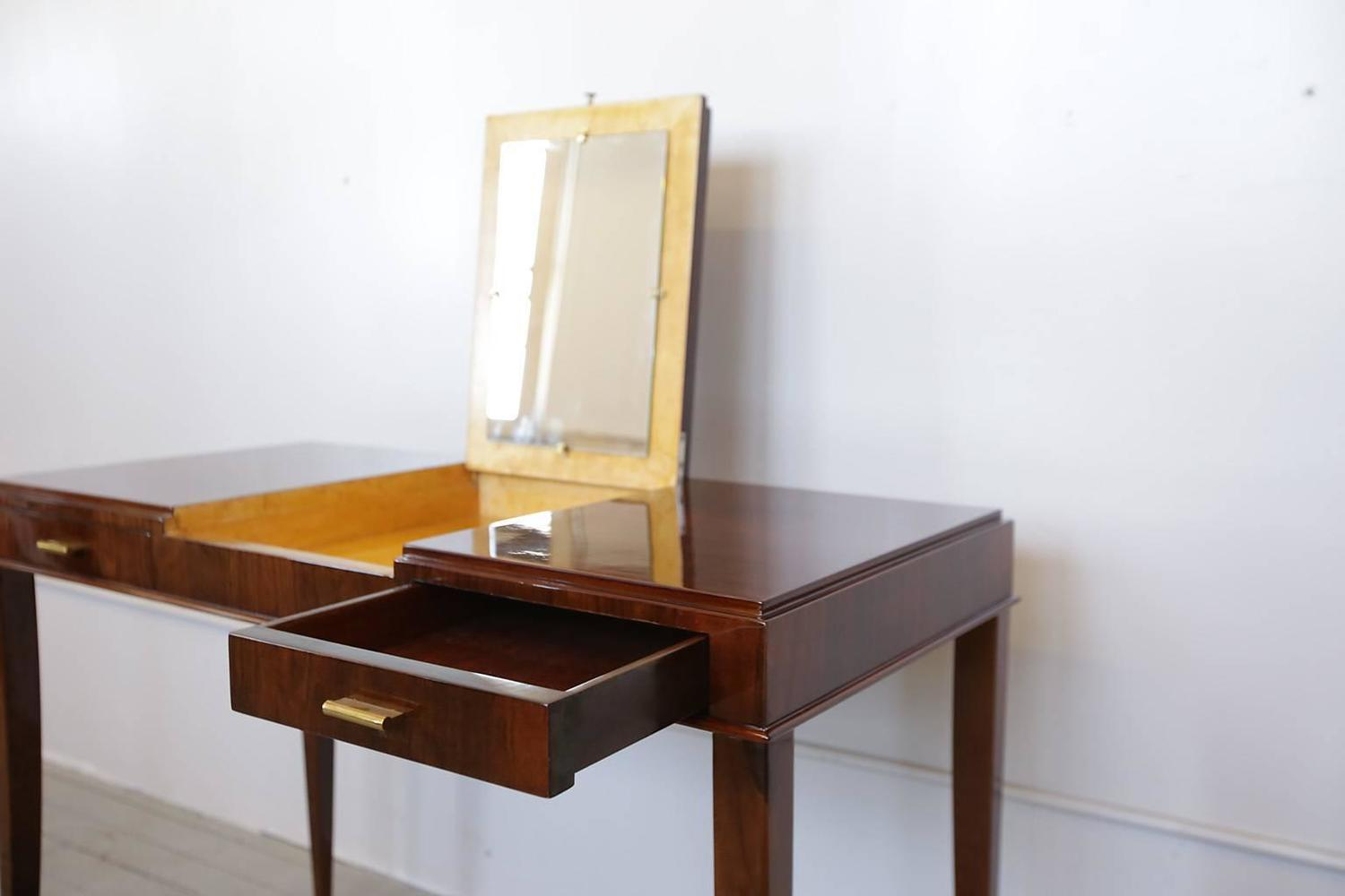 Vanity Table With Flip Up Mirror For Sale At 1stdibs
