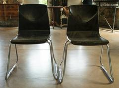 Vintage Flototto Pagholz Chairs, c. 1970