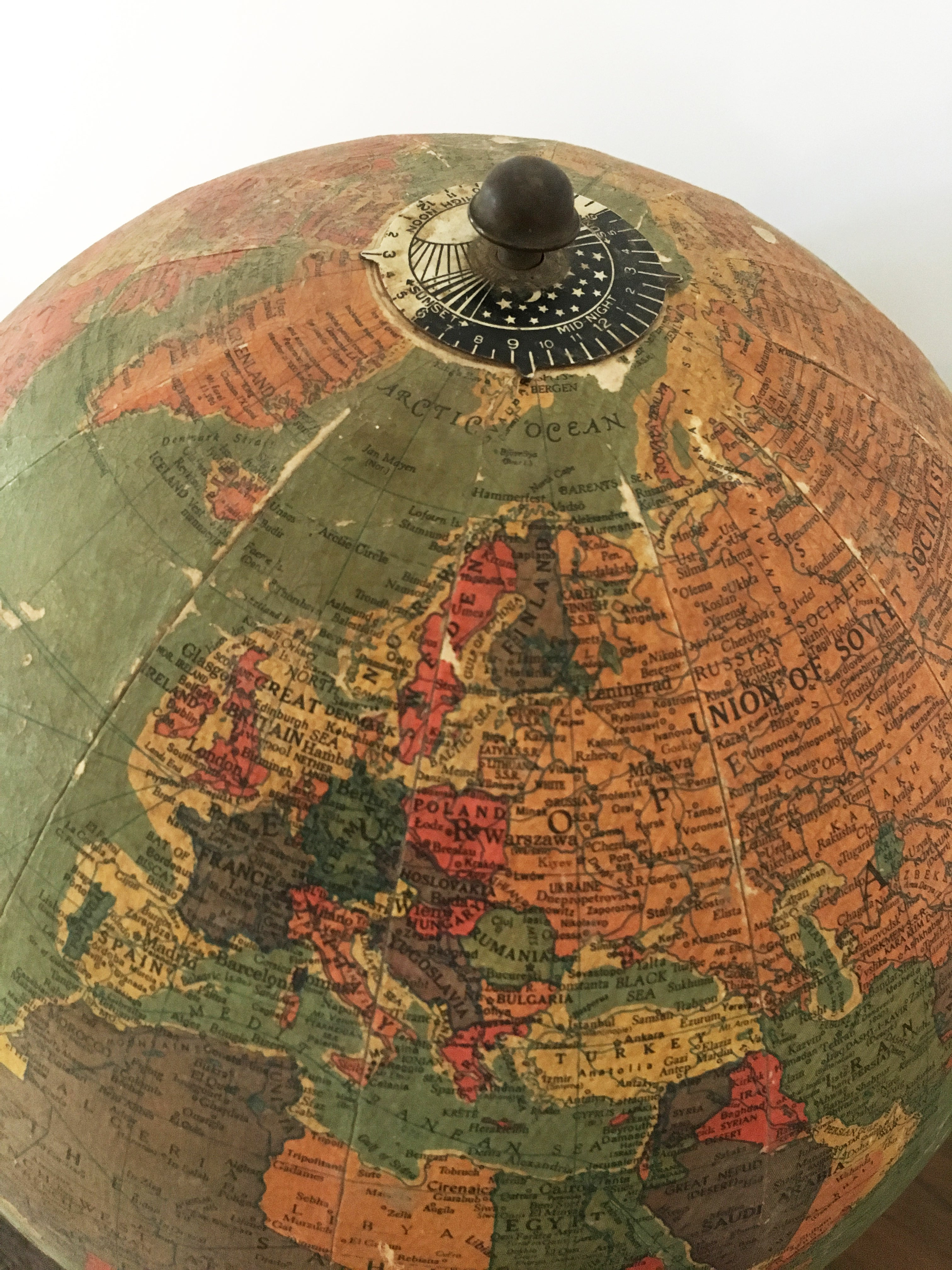 Datierung von Replogle Globen Königliche Doppeltondatiing-Muster