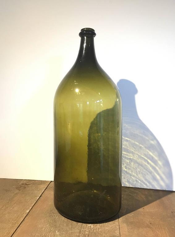 Vintage Glass Large Format Bottles, France, circa 1860 For Sale 2