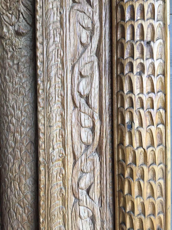 Vintage Carved Wooden Door Panels For Sale At 1stdibs