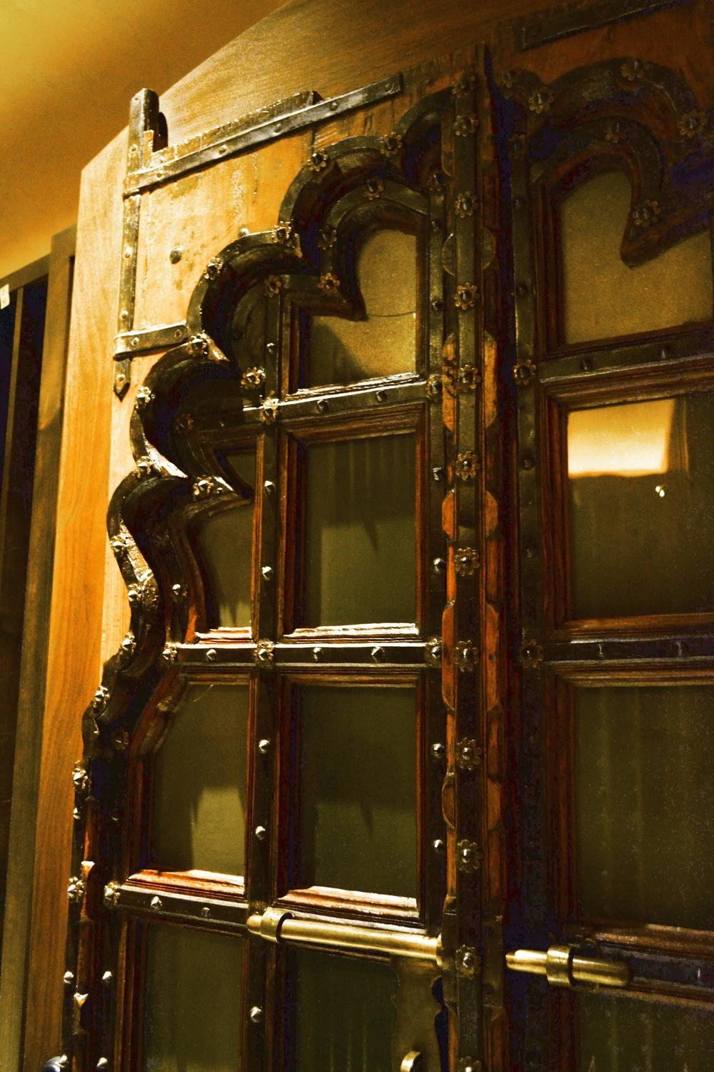 Mughal Carved Wood Doors Circa 19th Century For Sale At