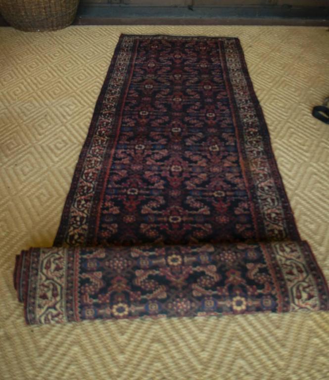 Vintage Afghan Rug Runner For Sale At 1stdibs