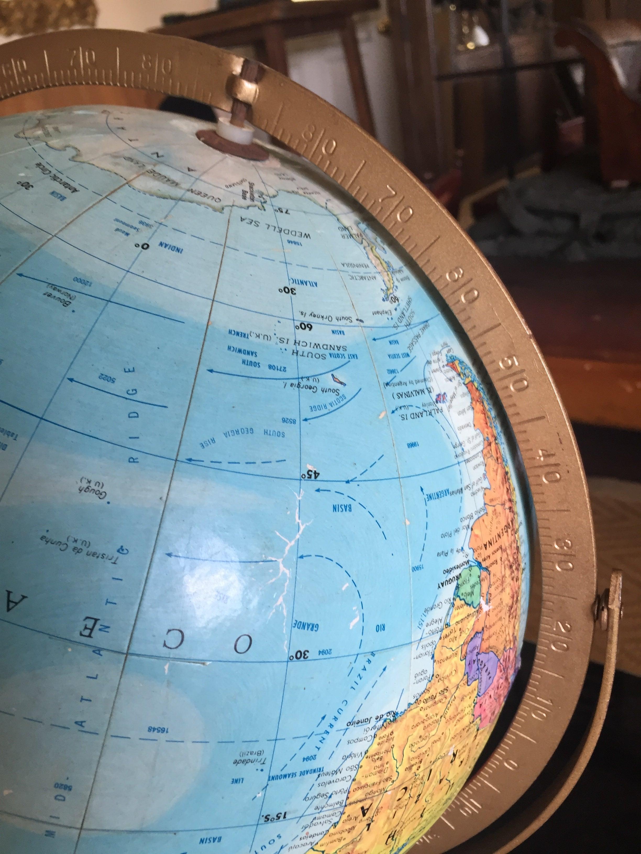 Datierung von Replogle Globen Nur datiert Zitate