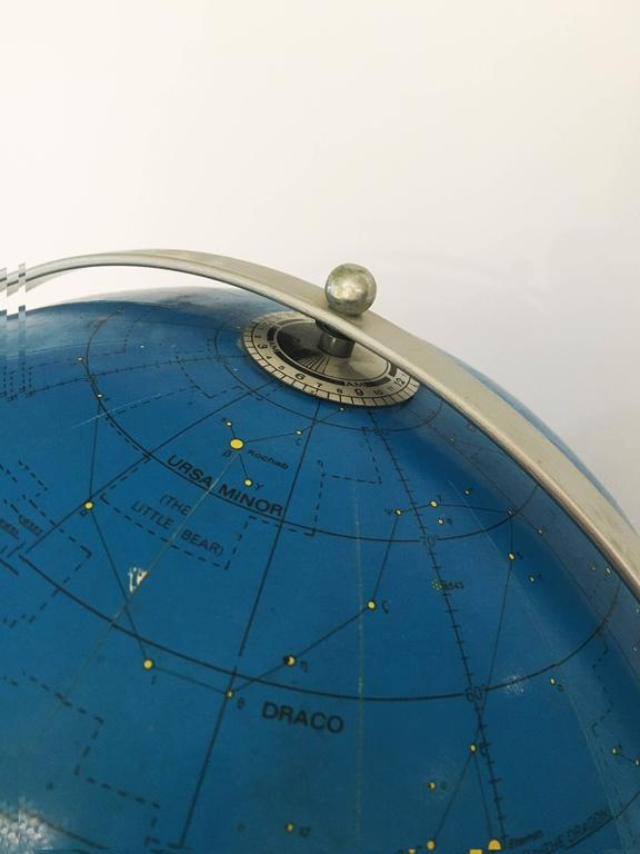 Apollo Celestial Globe, Replogle, circa 1971 In Good Condition For Sale In Yountville, CA