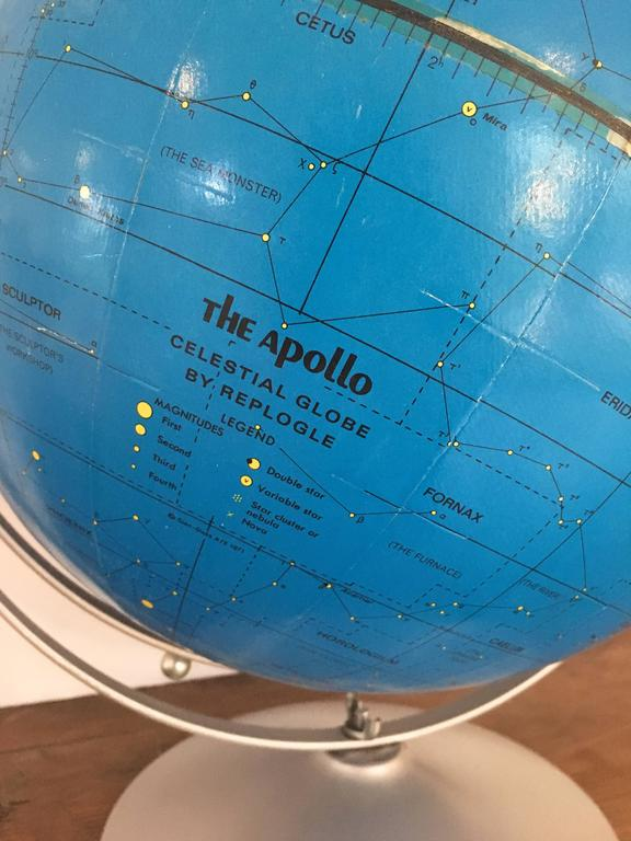 American Apollo Celestial Globe, Replogle, circa 1971 For Sale
