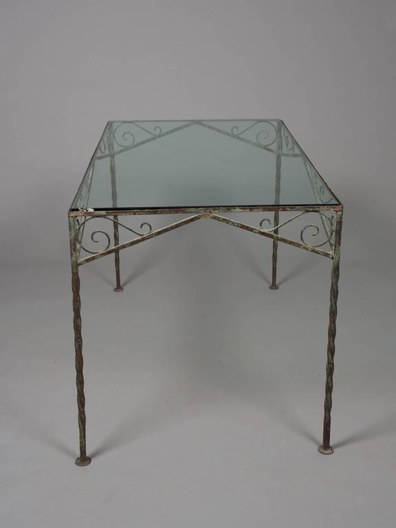 Mid-Century Modern Mid-Century Garden Table For Sale
