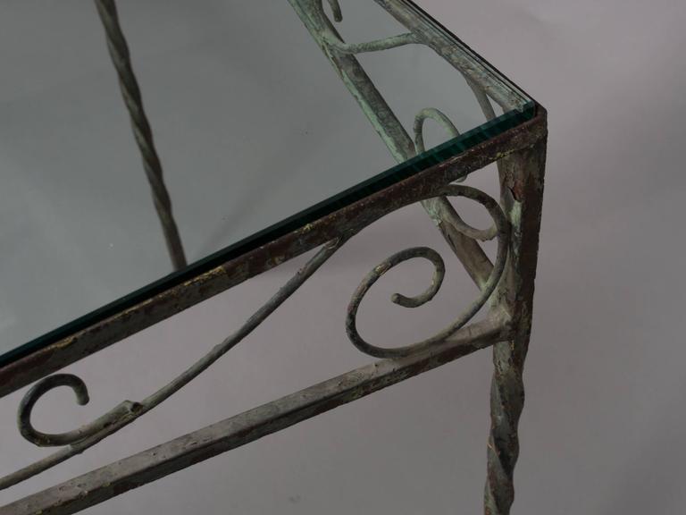 Mid-20th Century Mid-Century Garden Table For Sale