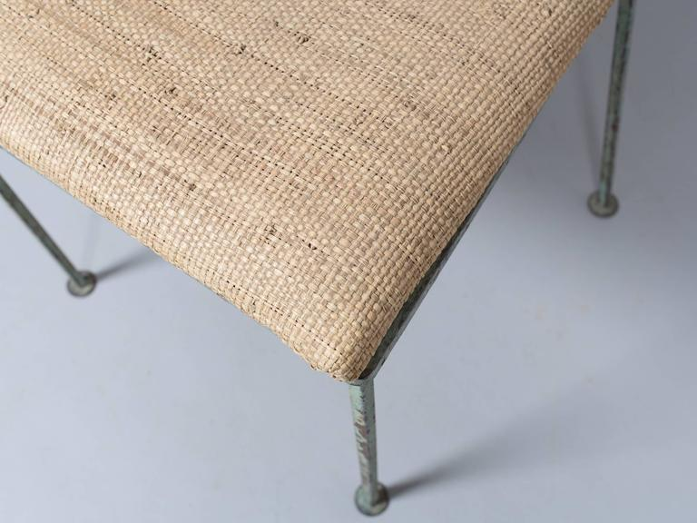 Mid-20th Century Set of Four Mid-Century Garden Chairs For Sale