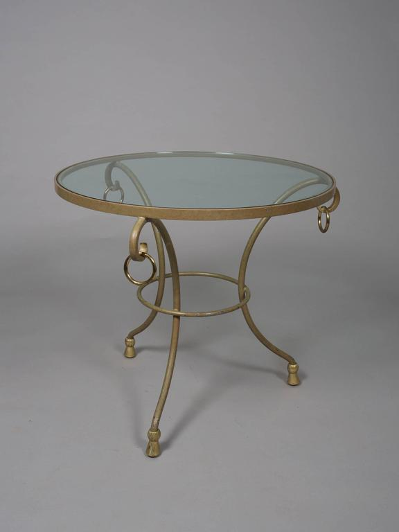 Pair of Round Regency Style Side Tables 4