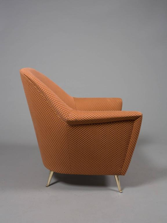 Mid-Century Italian Armchairs In Good Condition For Sale In New York, NY