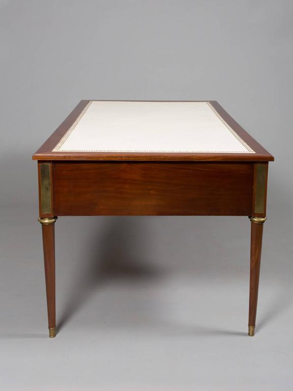 Jansen Neoclassical Style Bureau Plat In Excellent Condition For Sale In New York, NY