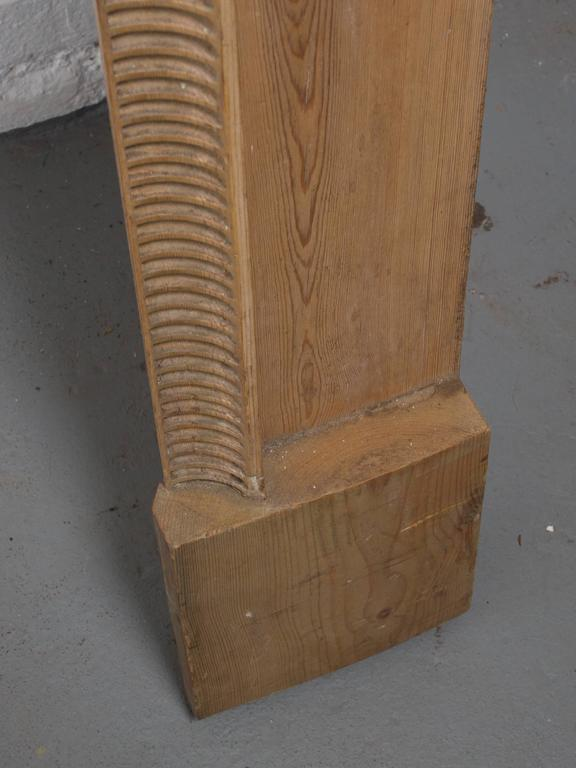 Georgian Style Carved Pined Parcel Gilt Fire Surround 5