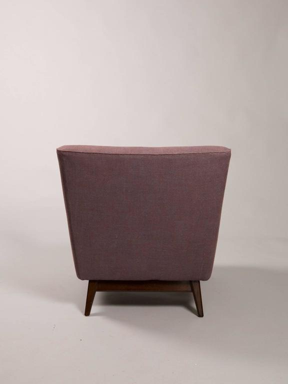 American Mid-Century Armchair Attributed to Jens Risom For Sale
