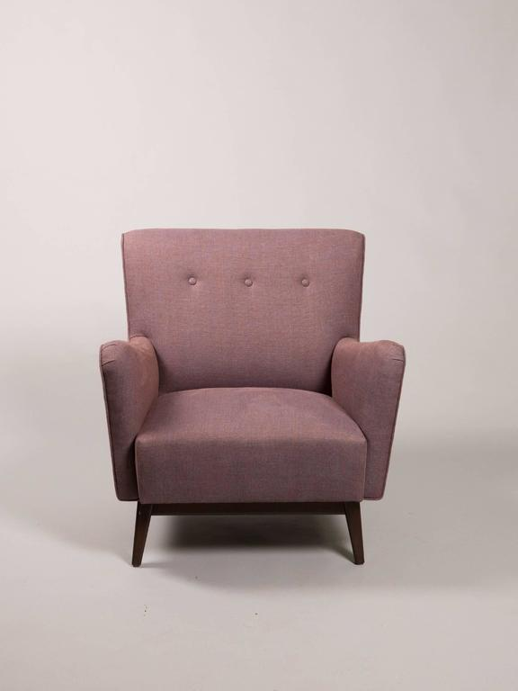 Mid-Century Modern Mid-Century Armchair Attributed to Jens Risom For Sale