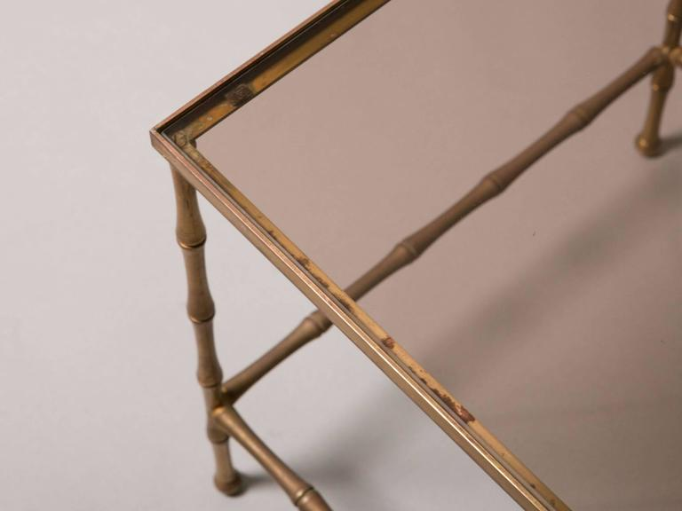 French Faux Bamboo Nesting Tables 4