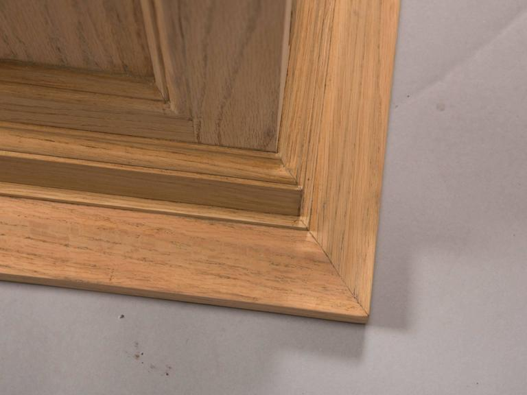 Neoclassical Style Raw Oak Pedestals 6